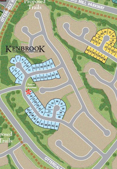 Kenbrook Siteplan